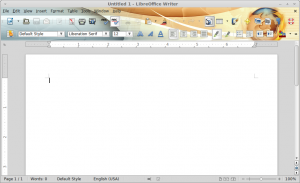 Screenshot-Untitled 1 - LibreOffice Writer
