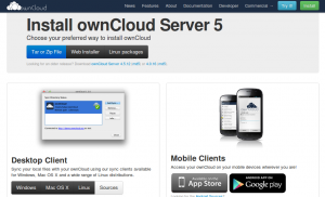 owncloud-installation-webpage