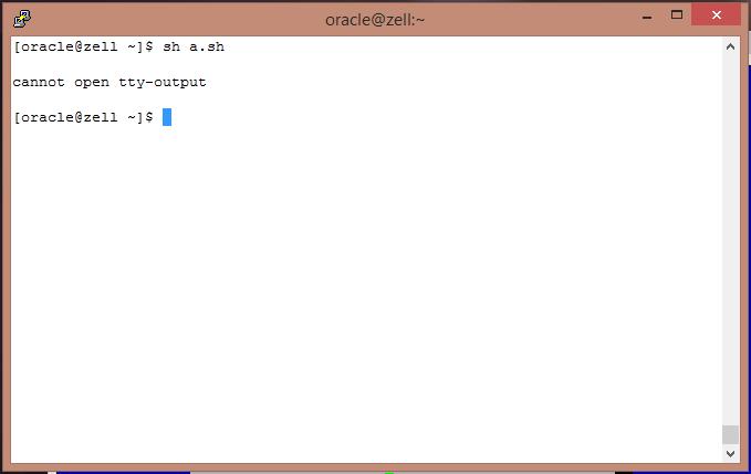 Oracle Enterprise LInux' Dialog
