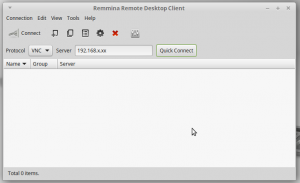 remmina-02-quick-connect-vnc