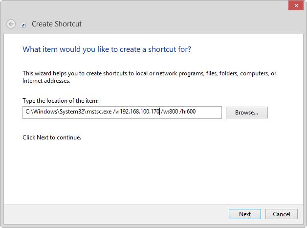 สร้าง Shortcut ในการ Remote Desktop Connection – CoP PSU IT Blog