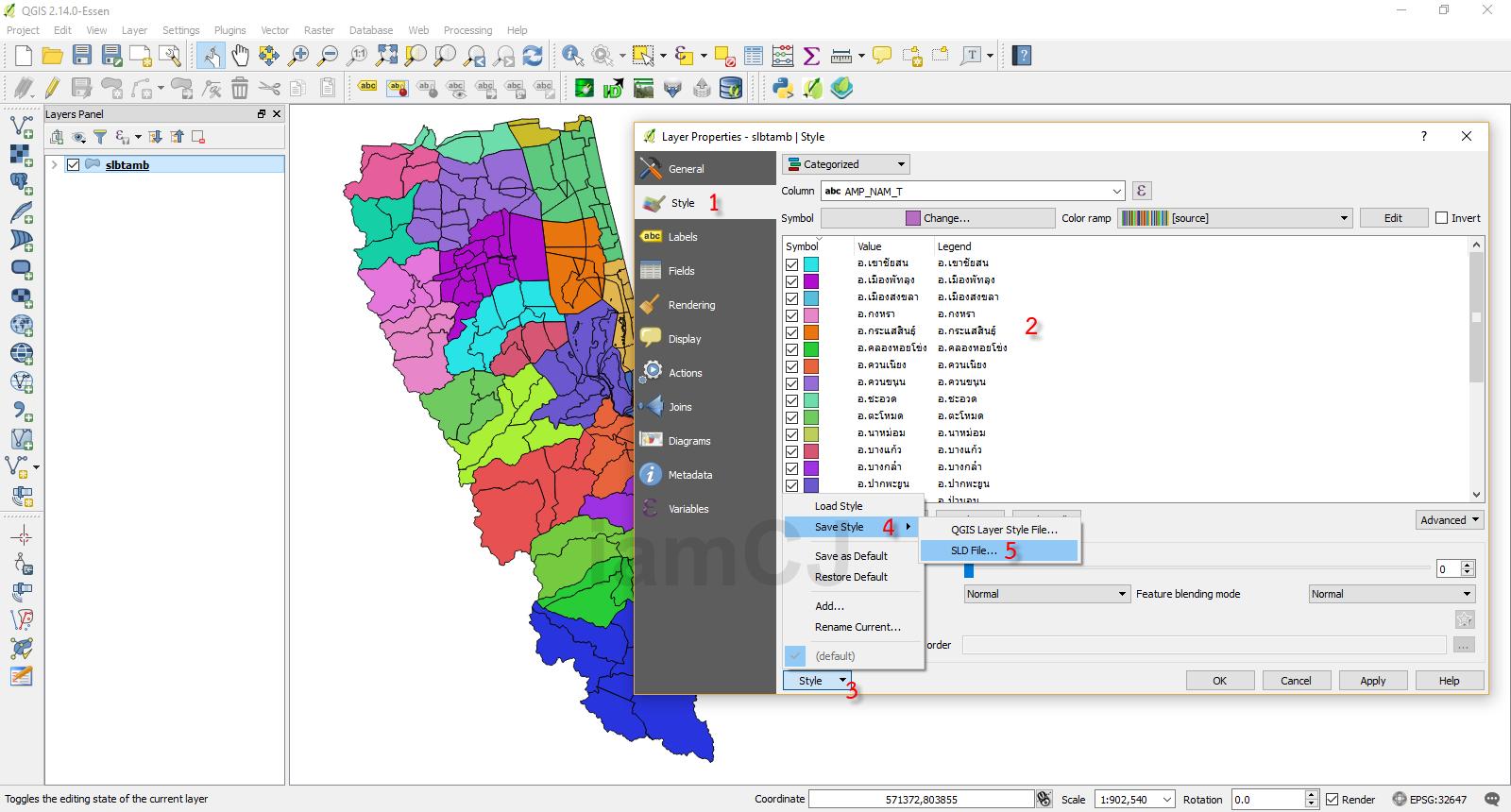 การสร้าง Web Map Service (WMS) บน Geoserver – CoP PSU IT Blog