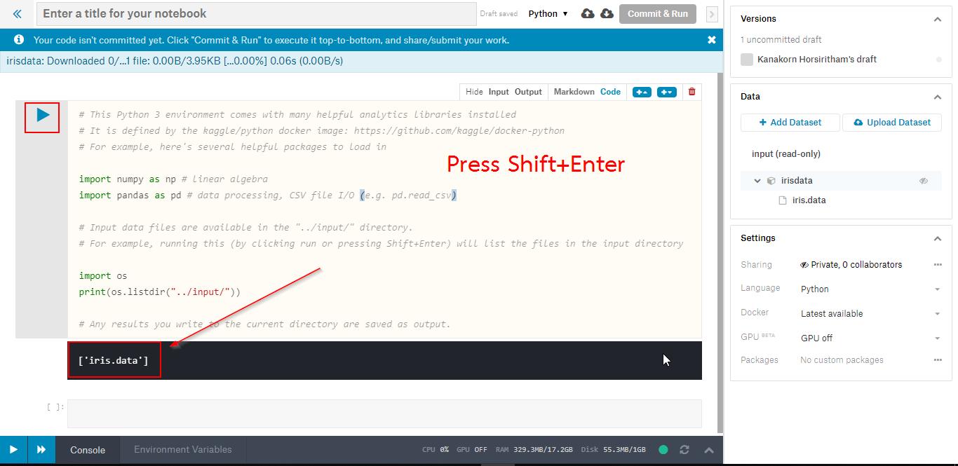 Kaggle – วิธีการใช้ Logistic Regression บนข้อมูล Iris – CoP PSU IT Blog