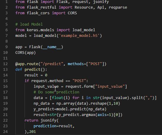 python #05 – การ Save/Load ตัวโมเดลจาก Keras แล้วนำไปใช้ใน